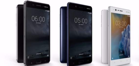 Nokia 6, Nokia 5 and Nokia 3 launched globally at Mobile World Congress
