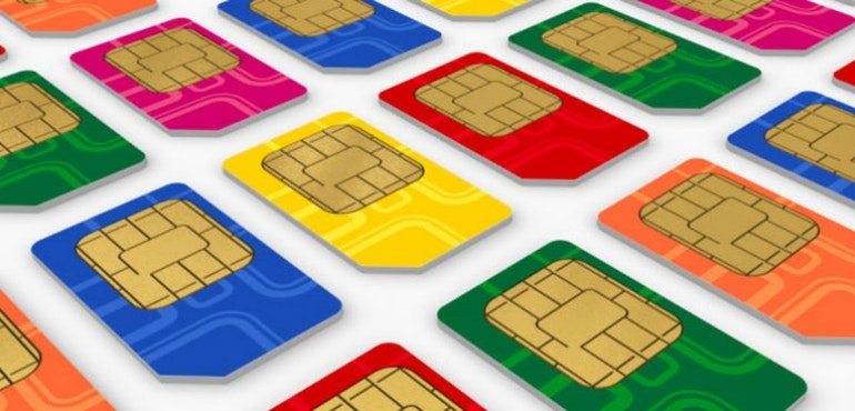 Guide - sim cards colours
