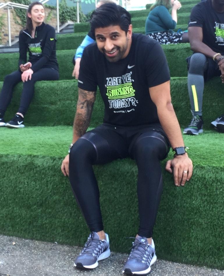 Ru after Nike Watch