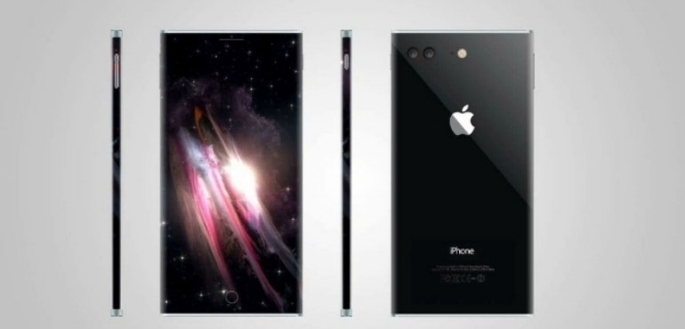 iPhone 8 concept size