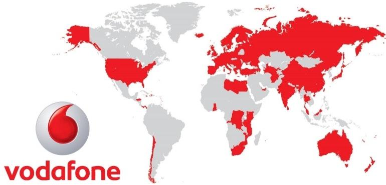 Vodafone international roaming FAQ