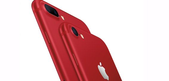 Apple unveils Red iPhone 7, plus 32GB and 128GB iPhone SE models