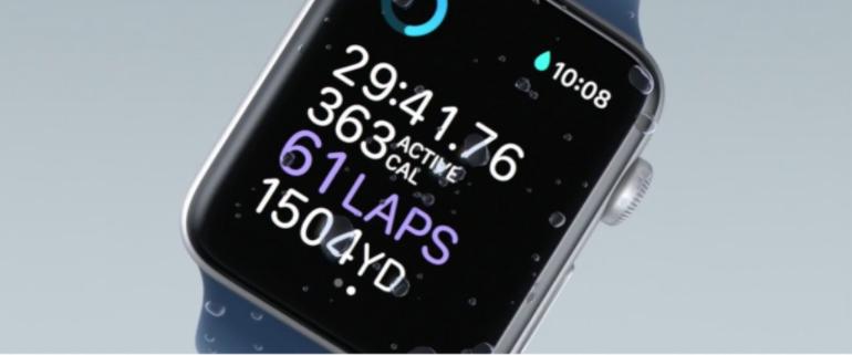 Apple Watch Series 2 water 2