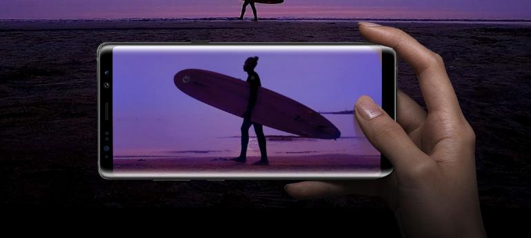 Samsung Galaxy Note 8 camera screenshot