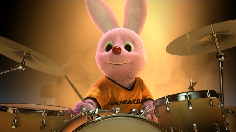 duracell battery bunny