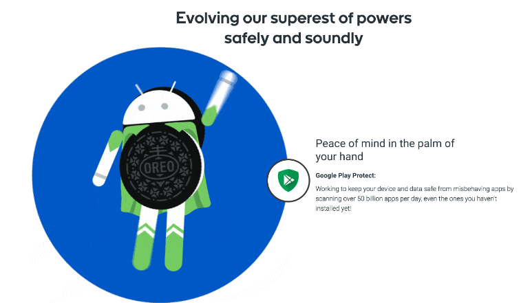 Android Oreo security