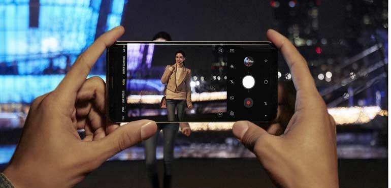 Samsung Galaxy S9 camera night