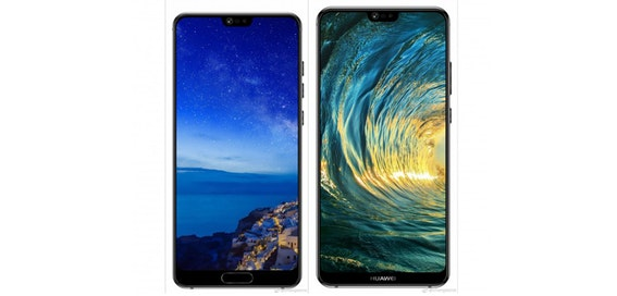 Huawei P20 and P20 Plus star in leak
