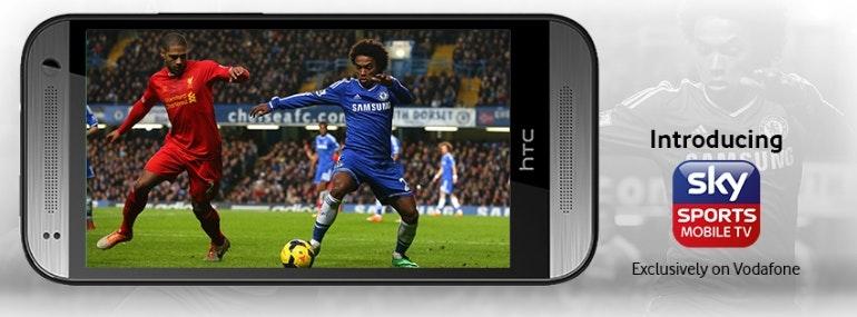 Sky Sports Mobile TV Vodafone