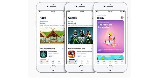 Apple overhauls App Store with iOS 11