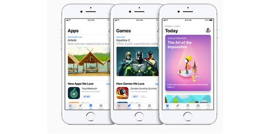 Apple launches App Store pre–orders