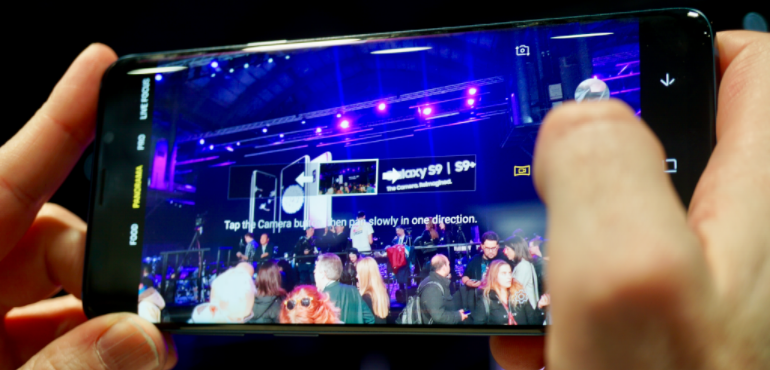 Samsung S9 camera pro mode hero size