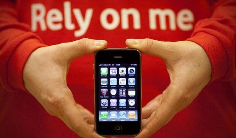 Vodafone courtesy phone