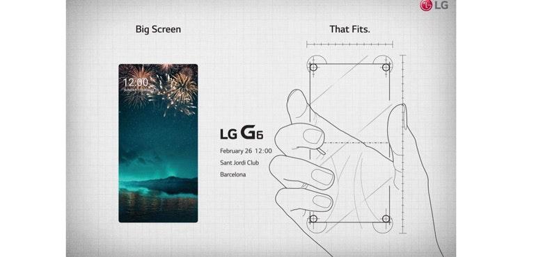 LG G6 teaser invite