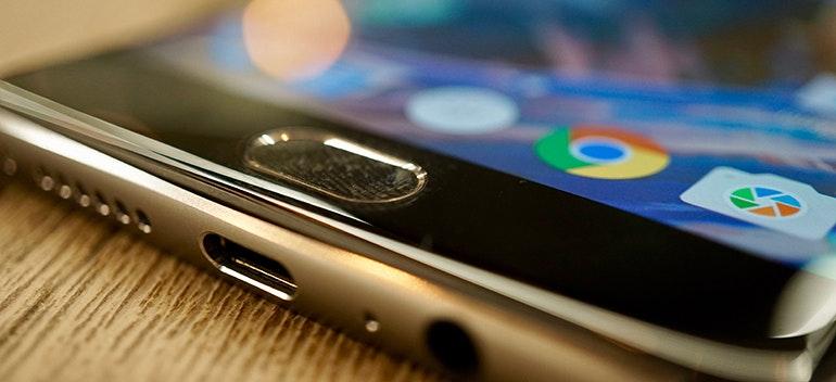 oneplus 3 fingerprint scanner detail