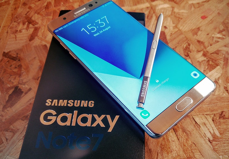 samsung galaxy note 7 with box
