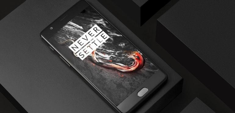 OnePlus 3T Midnight hero image