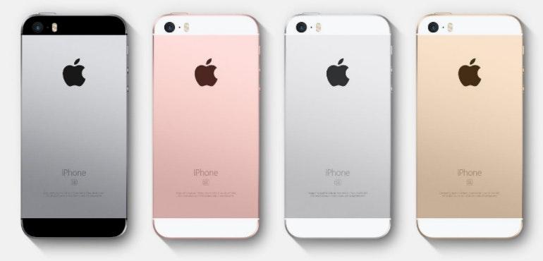 iPhone SE backs