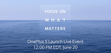 OnePlus 5 launch: how to watch the livestream