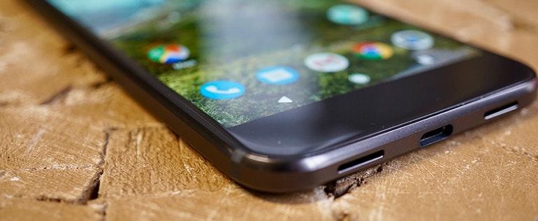 Google pixel resting bottom