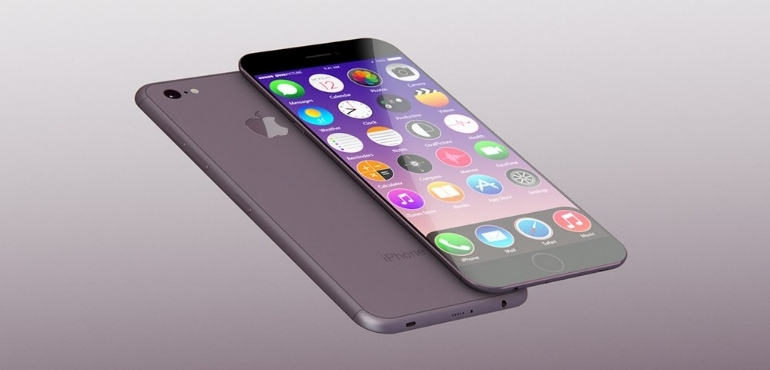 iPhone 7 concept slanted