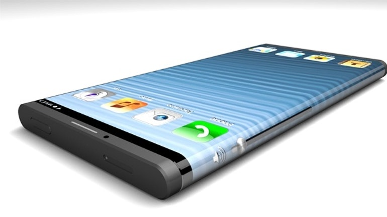 iphone curved screen