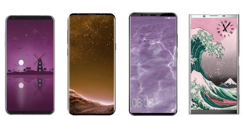 Top 10 phones to look forward to in 2018