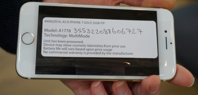 Refurbished iPhone 7 sticker blemishes hero size