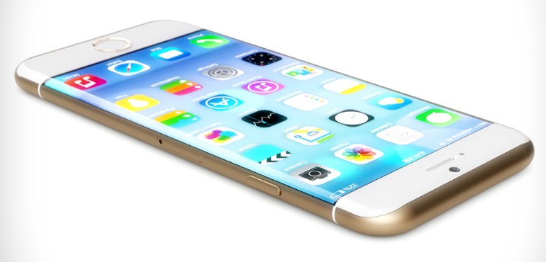 iphone concept curved display