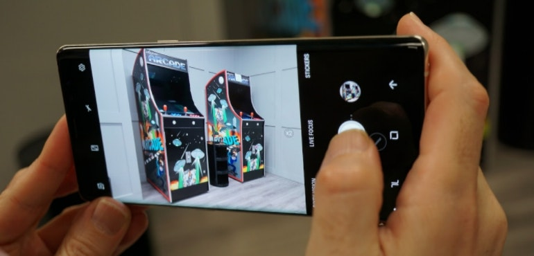 Samsung Galaxy Note 8 camera in action hero size