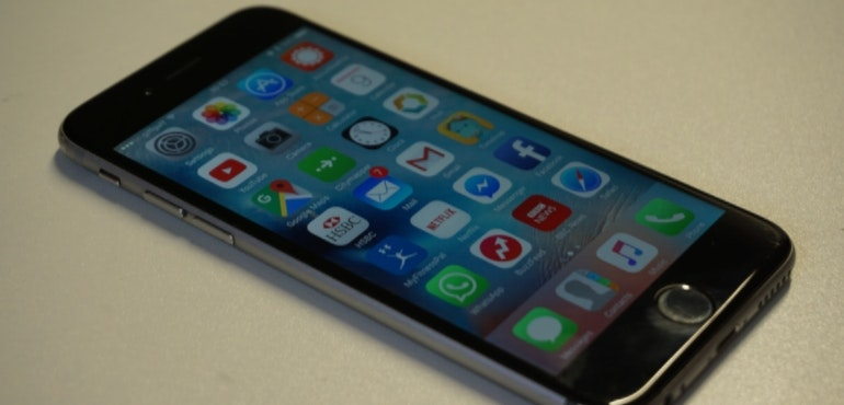 iphone 6s angled