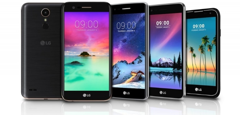 LG K and Stylus 3 announcement hero image
