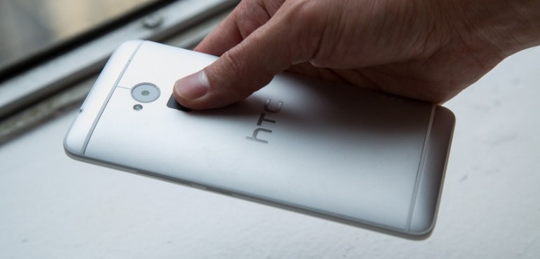 htc one m9 fingerprint scanner