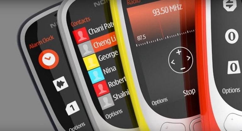 New Nokia 3310 screens