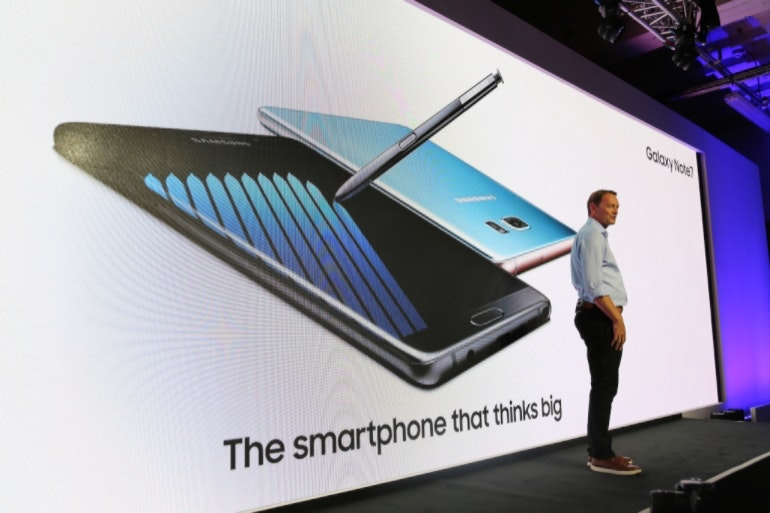 Samsung Note 7 launch 1