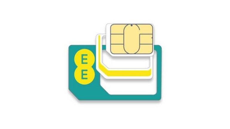 EE sim card