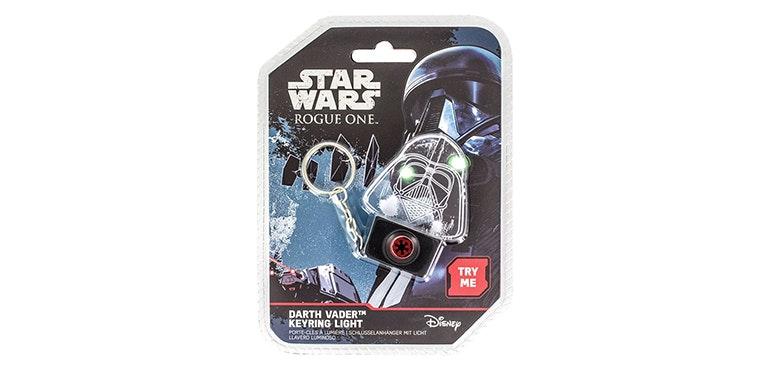 Darth Vader keyring light