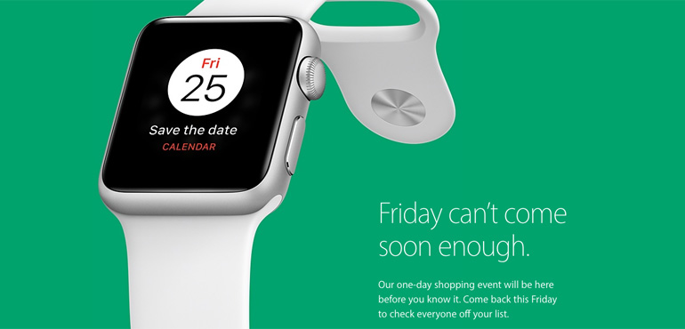 Apple teases Black Friday discounts