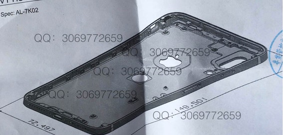 iPhone 8 leak shows plans for vertical camera and rear fingerprint scanner