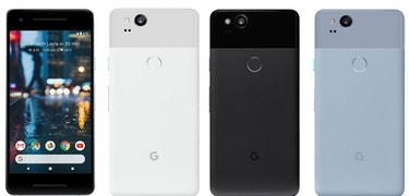 Google Pixel 2 and Pixel XL 2 pictured again ahead of launch