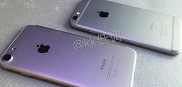 iPhone 7 compared with iPhone 6s in leaked video