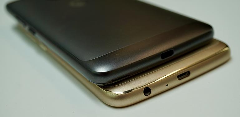 Motorola Moto G5 ports 2