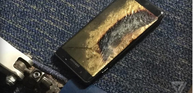 Galaxy Note 7 southwest airlines