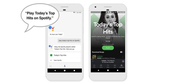 Spotify comes to Google Assistant