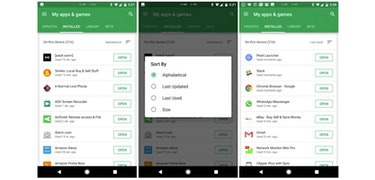 Google Play Store changes make getting rid of unused apps easy