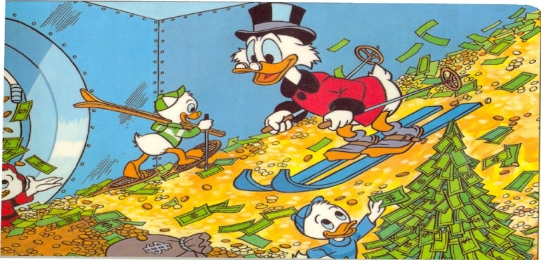 scrooge mcduck profits