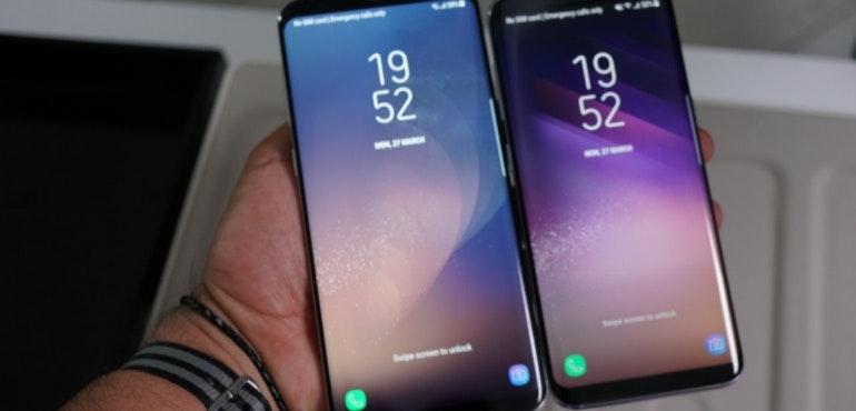 Samsung Galaxy S8 and S8 Plus hero image