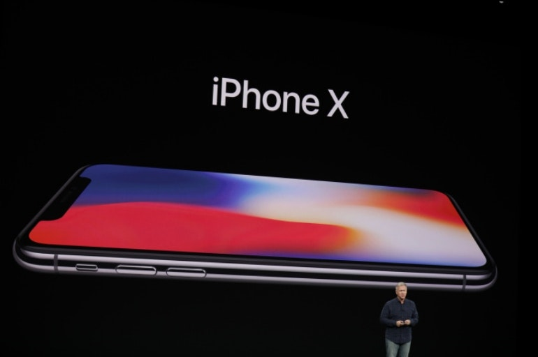 iphone x side