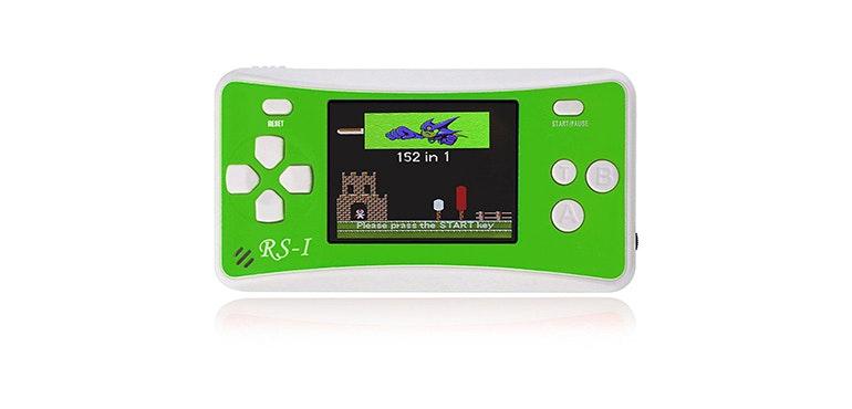 Retro handheld games console
