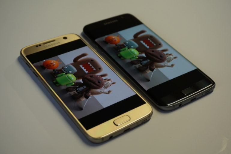 Samsung Galaxy S7 and S7 Edge - design